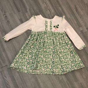 Shamrock baby dress